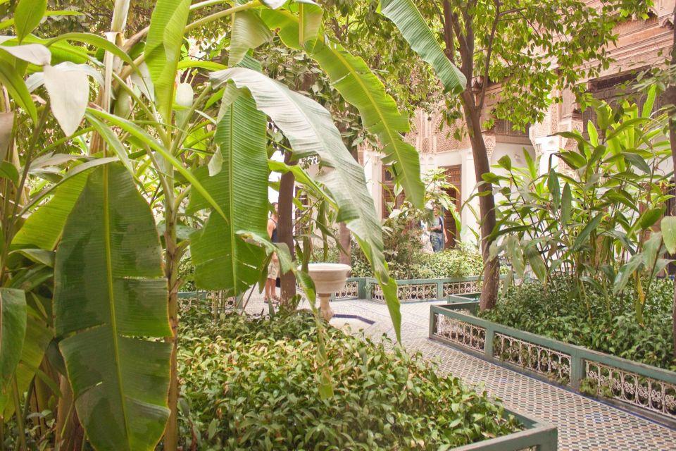 Le jardins du palais de la Bahia
