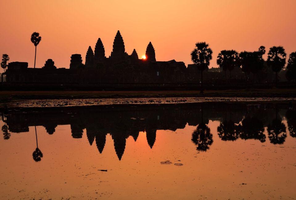 April: Pray at the temples of Angkor Wat, Cambodia