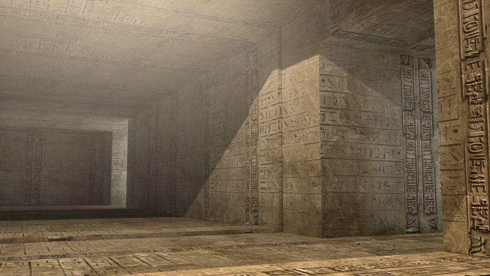 Illustration futuriste - La chambre souterraine
