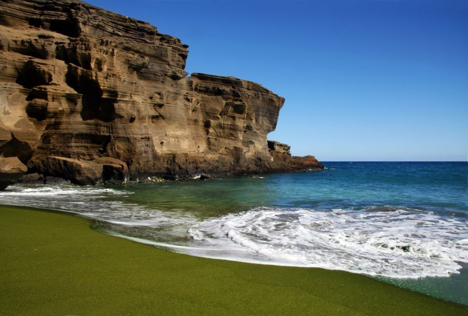Green Sand (Papakolea) Beach, Big Island