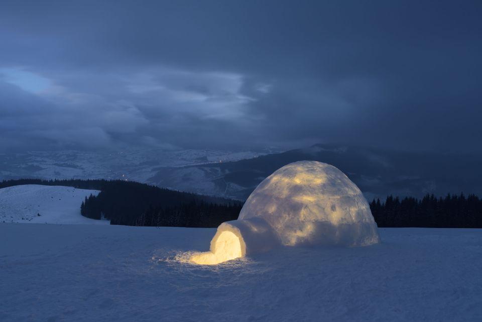 Dormir dans un igloo