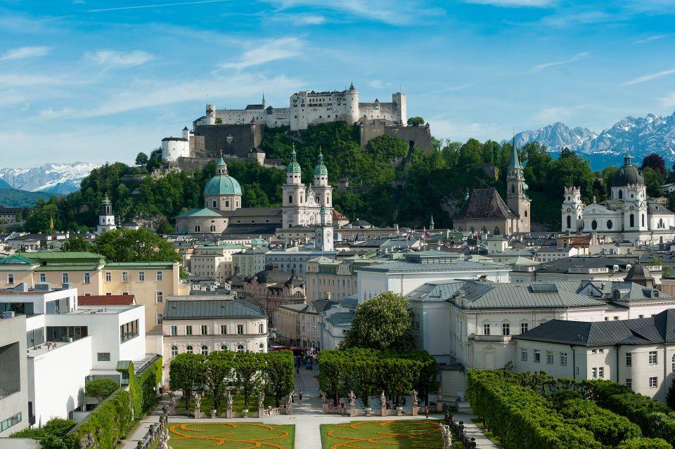 La cathédrale de Salzbourg surnommée le Dôme