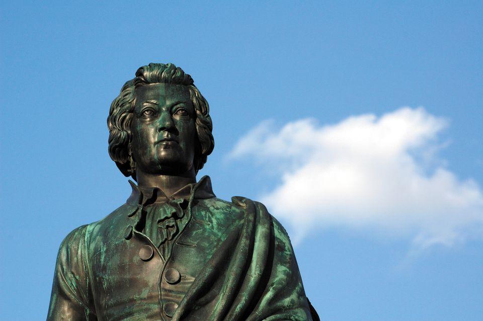 La statue de Mozart à Salzbourg