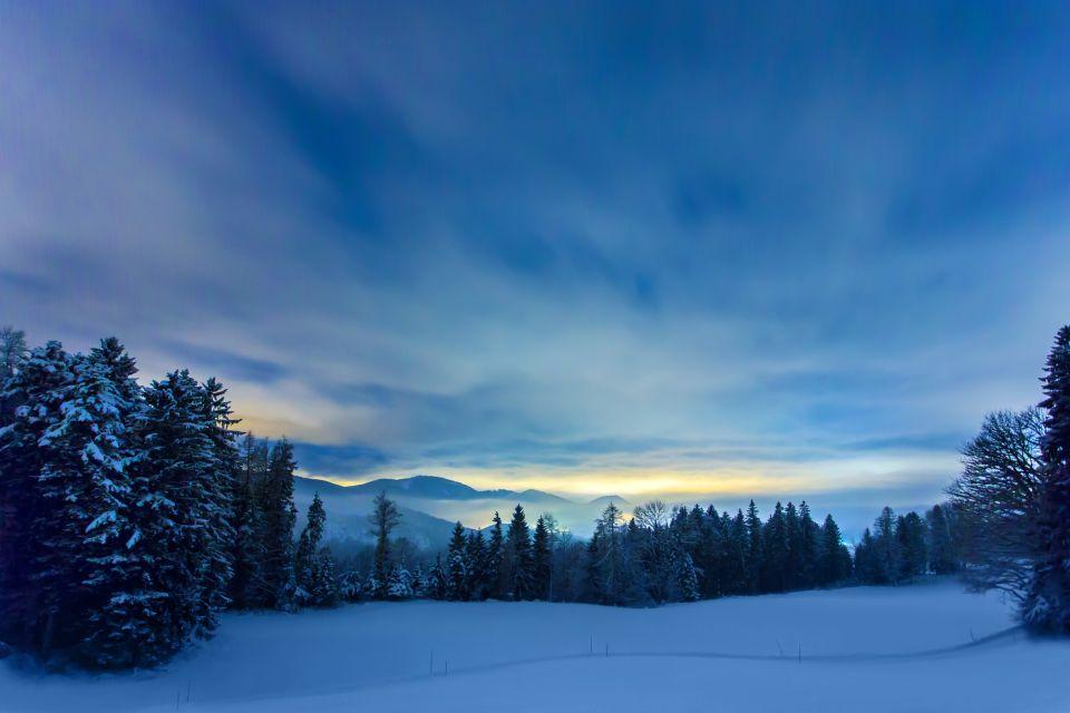L'hiver dans le land de Salzbourg