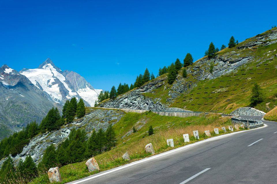 La route alpine du Großglockner est fermée en hiver