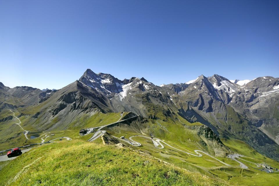 La route alpine du Großglockner comporte 36 virages