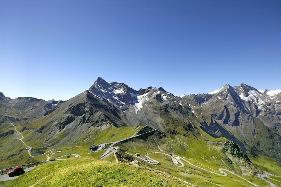 Vue sur la plus haute montagne d'Autriche : 3798 m