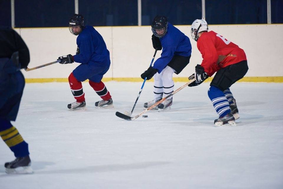 Assister à un match de hockey