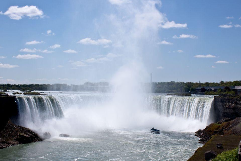 Aller voir les chutes du Niagara