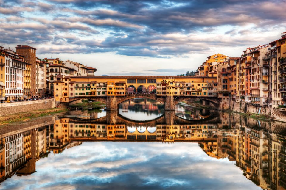 Amble across the Ponte Vecchio