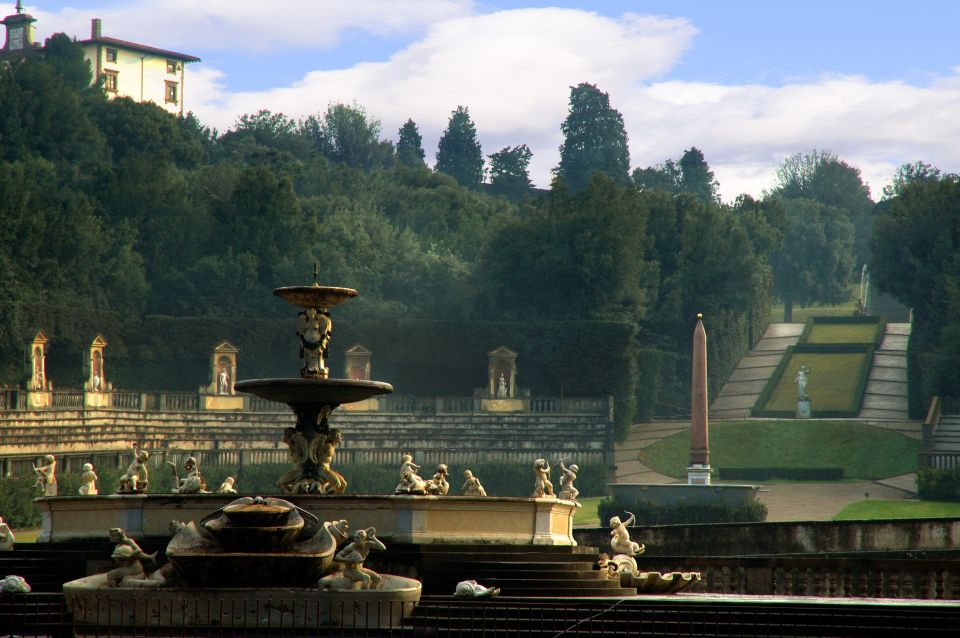 Take a stroll around the Boboli Gardens