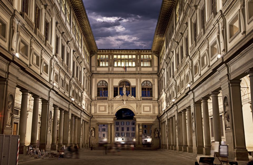 Soak up the exquisite Uffizi