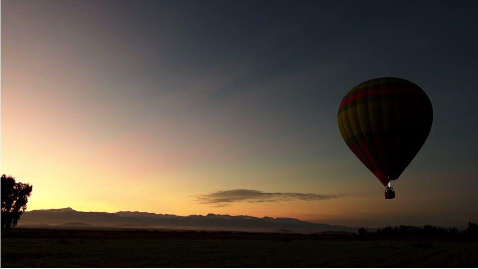 Vol en Montgolfière au dessus du Maroc