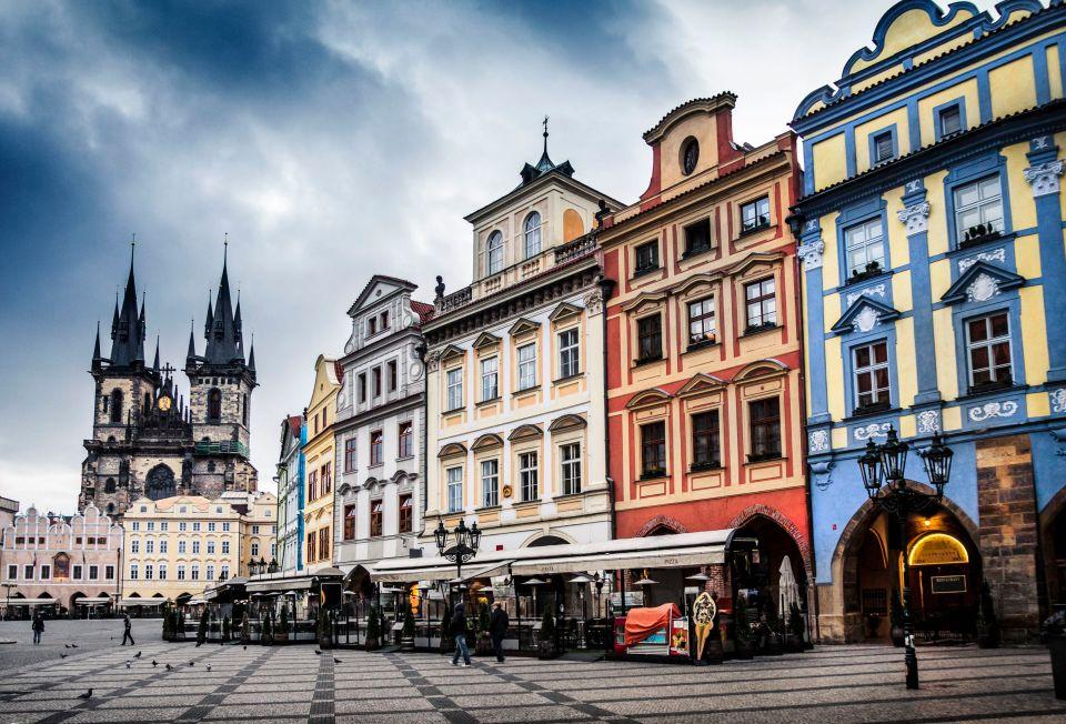 L'architecture de Prague