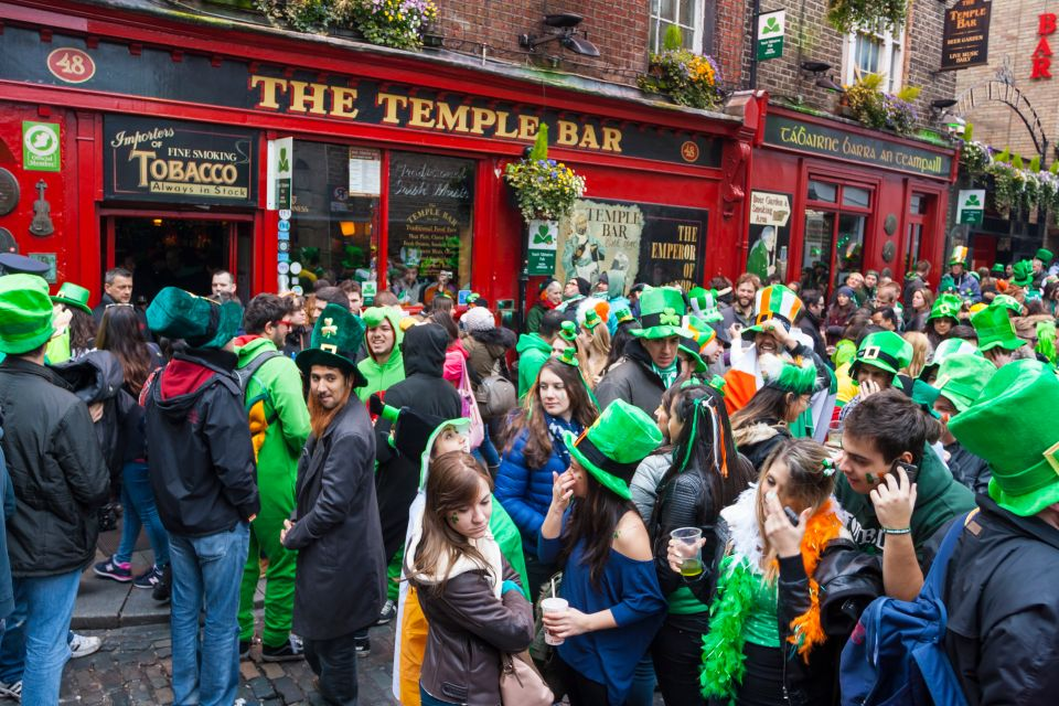 Celebrate like the true Irish in one of Dublin's many pubs