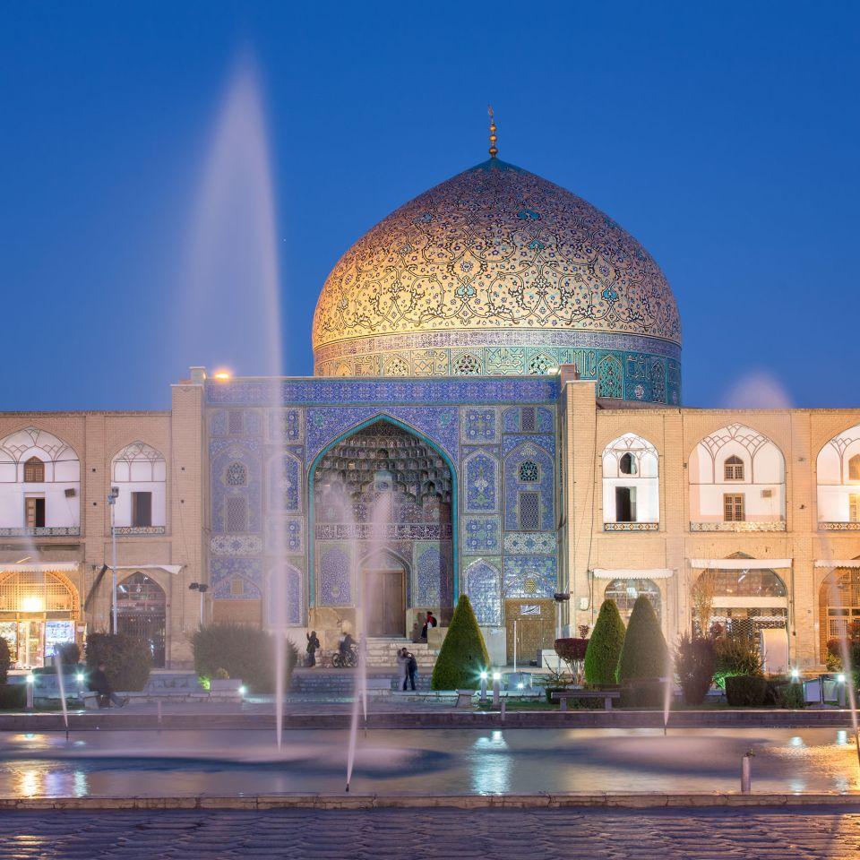 La mosquée du cheikh Lotfollah à Ispahan en Iran
