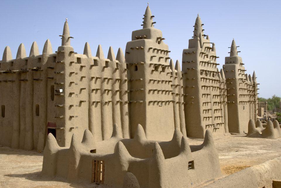 La Grande Mosquée de Djenne au Mali