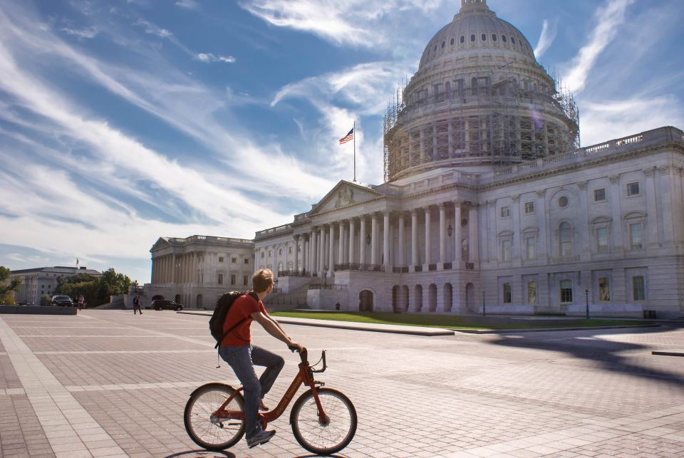 Explore the capital by bike