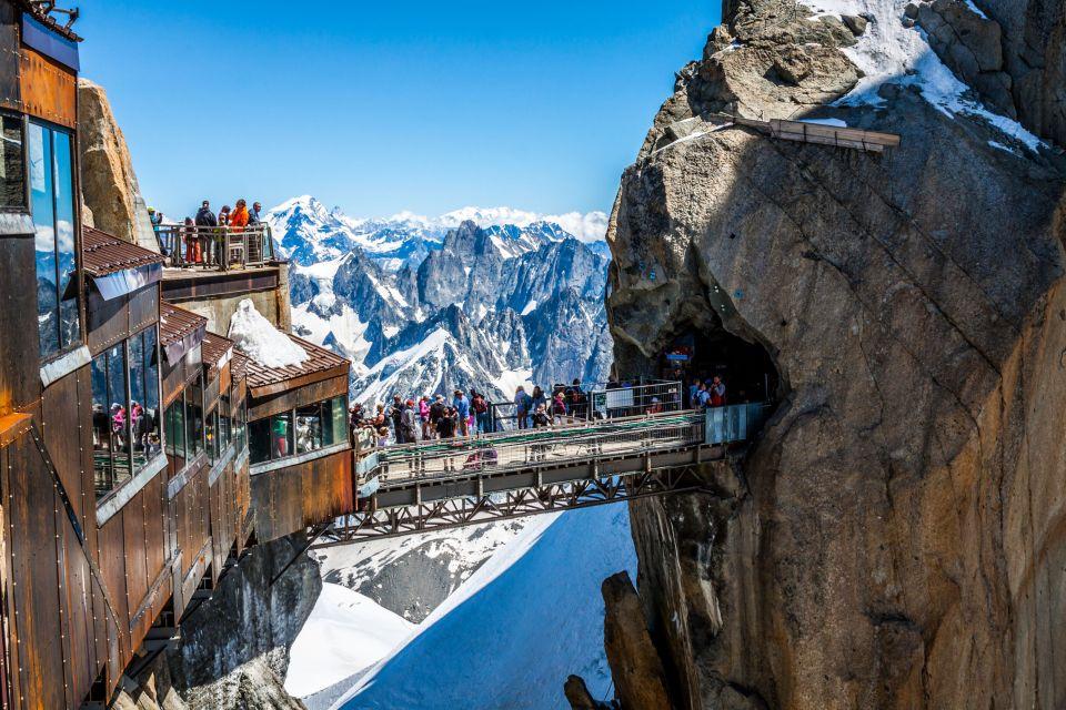 Aiguille Du Midi Le Pas Dans Le Vide découvrez les ponts les plus vertigineux du monde - easyvoyage