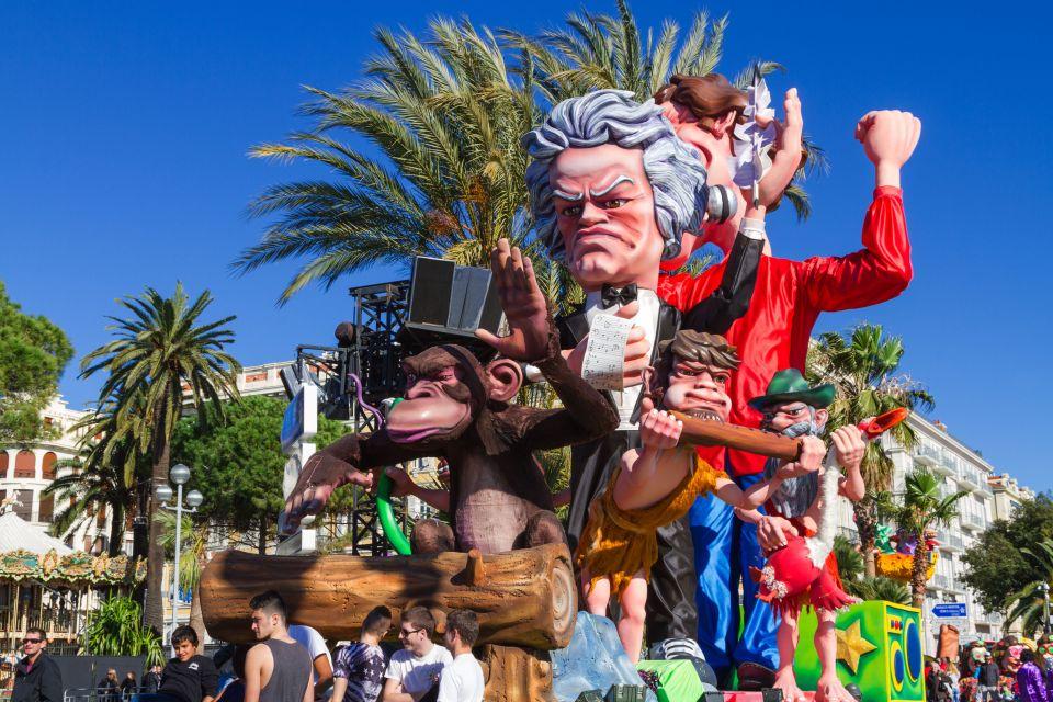 Février en Provence-Alpes-Côte d'Azur - Le Carnaval de Nice