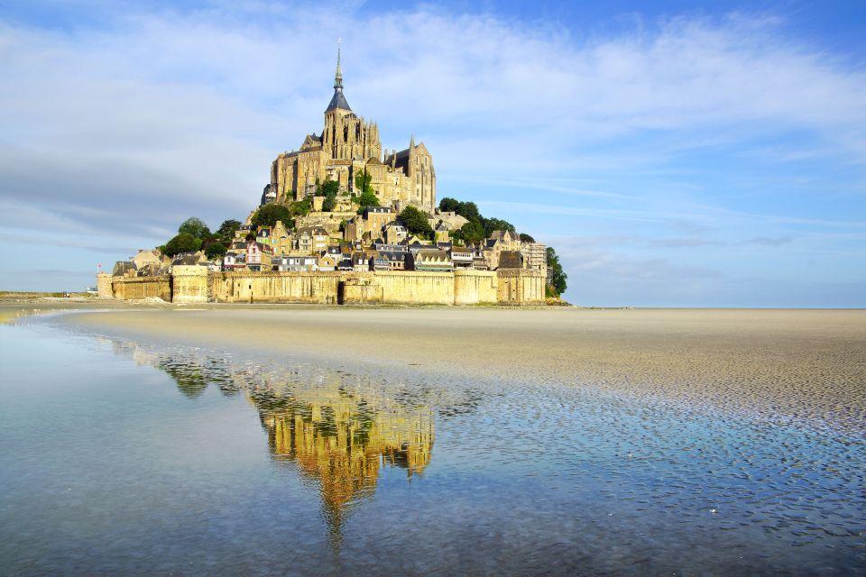 Avril en Normandie - Le Mont St Michel