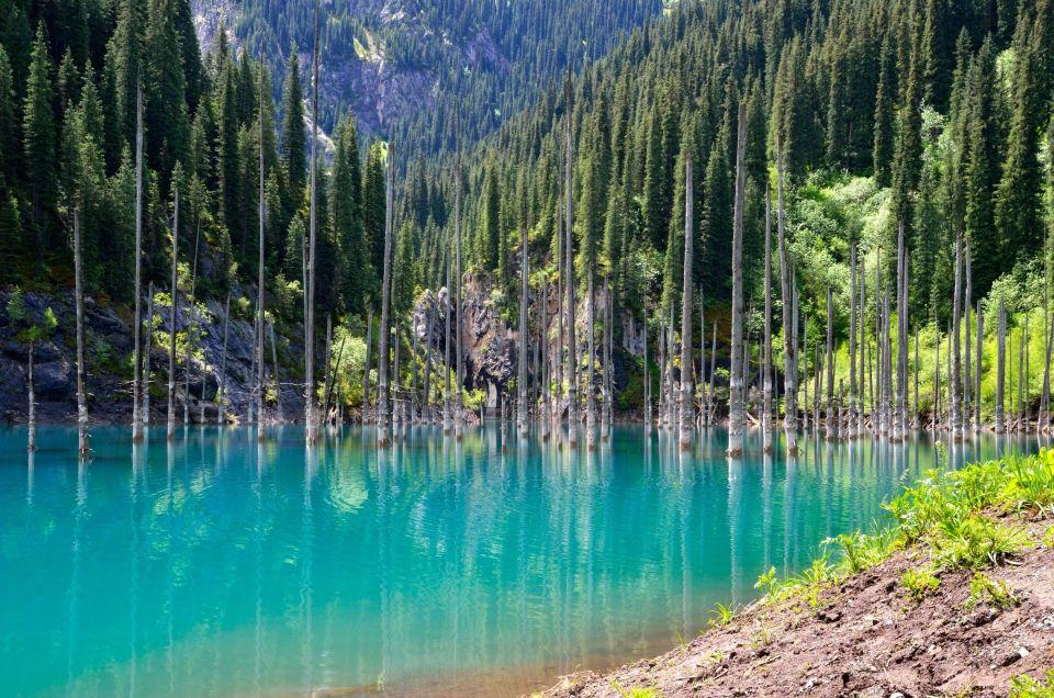 Un lac paradisiaque