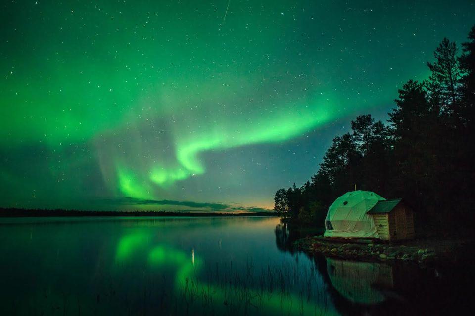 aurores bor ales et activit s nordiques en laponie finlandaise easyvoyage. Black Bedroom Furniture Sets. Home Design Ideas