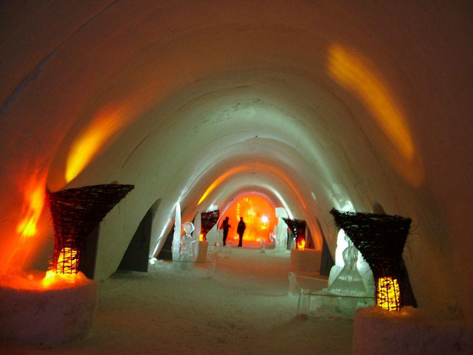 Hôtel de glace à Ylläs