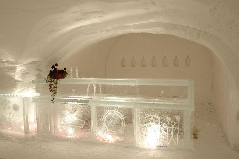 Le bar de glace !