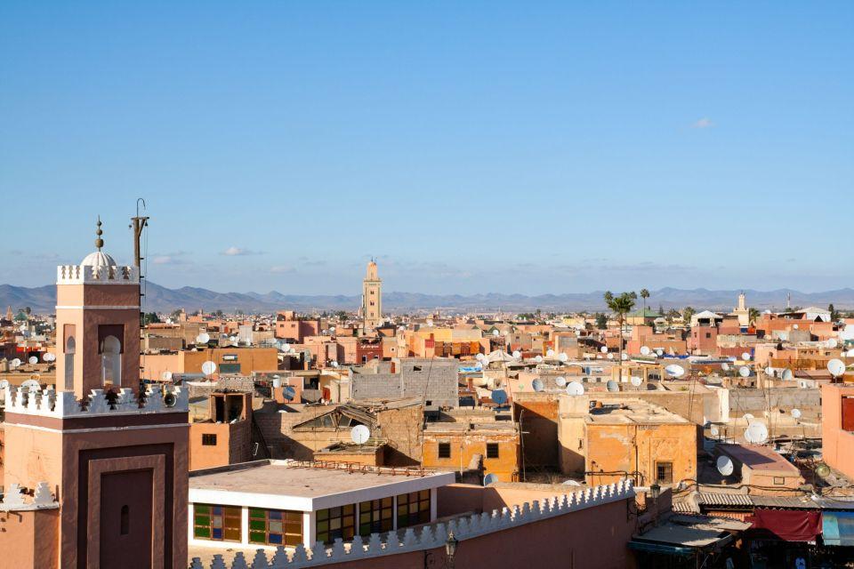 Marrakech, capitale du Maroc