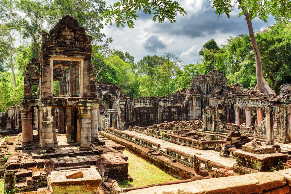 Preah Khan à Angkor, Siem Reap, Cambodge