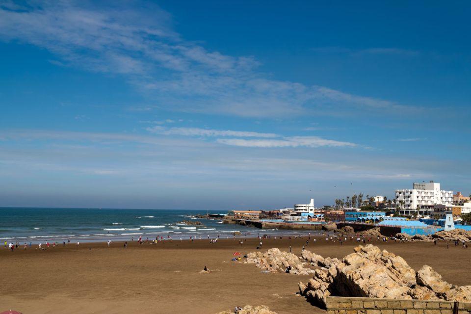 La plage de Casablanca