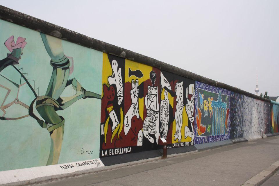 Les graffitis du mur de Berlin