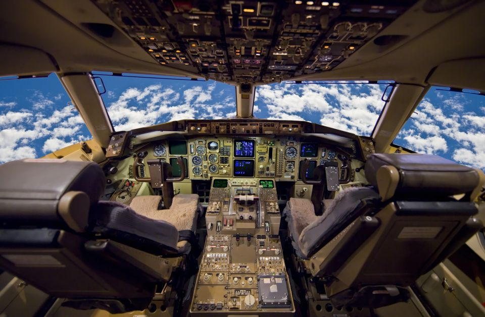 Visitar la cabina del piloto