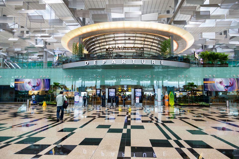 L'aéroport de Singapour Changi