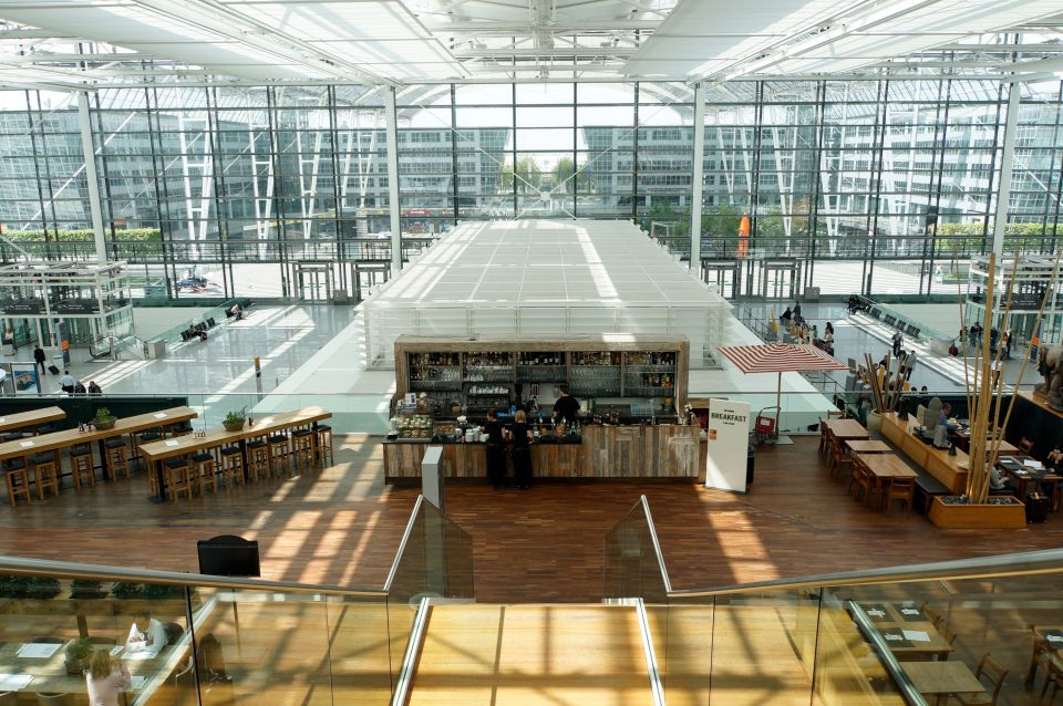 L'aéroport de Munich