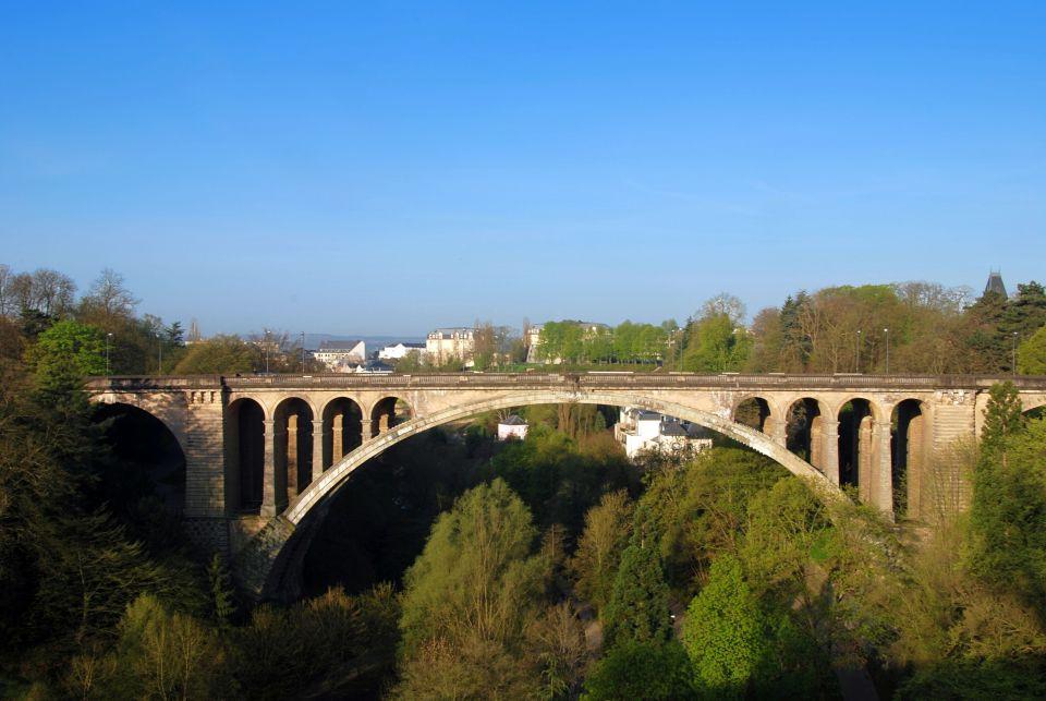 Le pont Adolphe a l'arc le plus long du monde pour un pont en grès