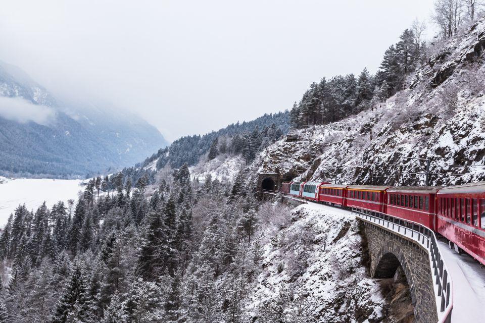 Der Glacier Express, Schweiz