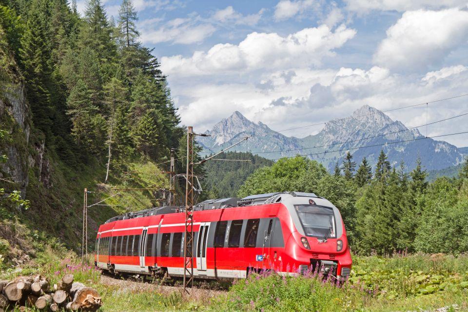 Der ÖBB Railjet, Österreich
