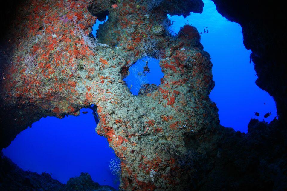 Maldives Underwater Cave