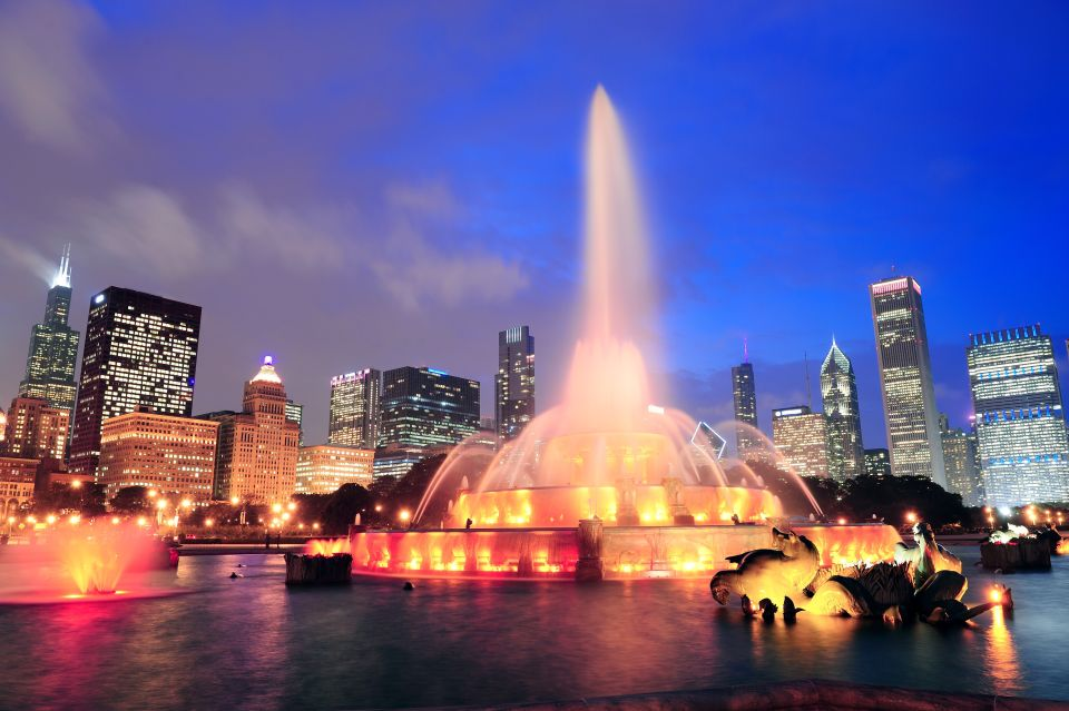 The Buckingham Fountain - Chicago, United States