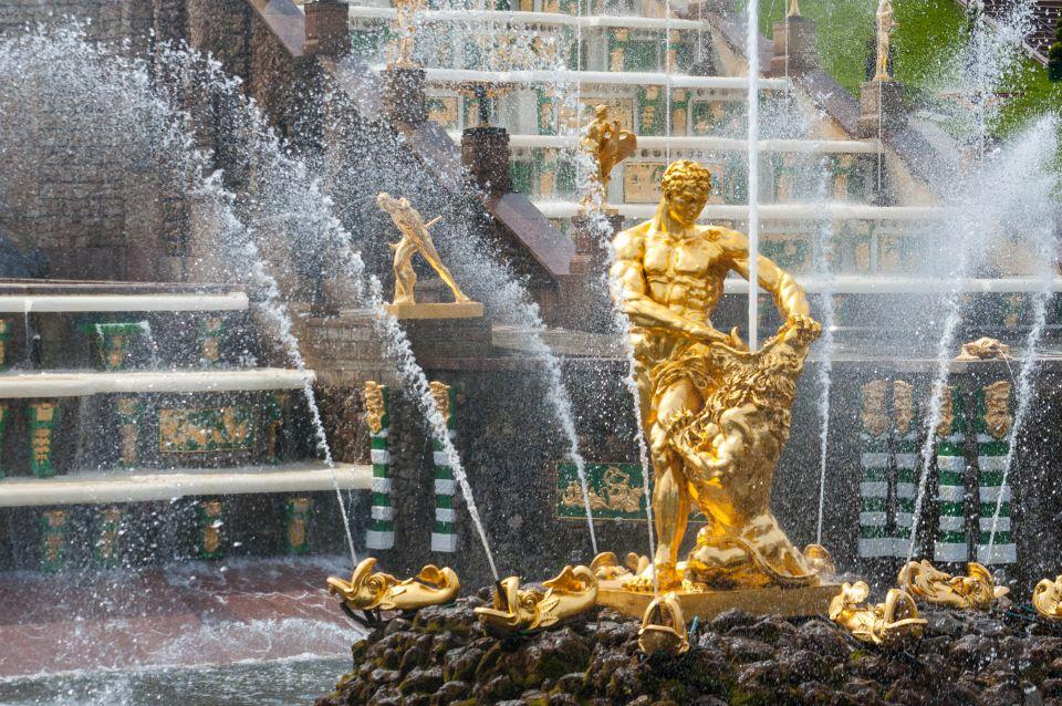 Samson Fountain, Peterhof - St Petersburg, Russia