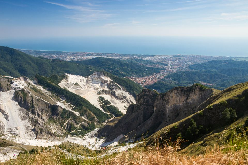 Or hike in the Apuan Alps