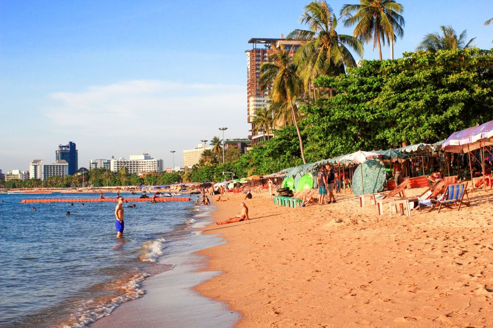 Thaïlande, la plage de Pattaya