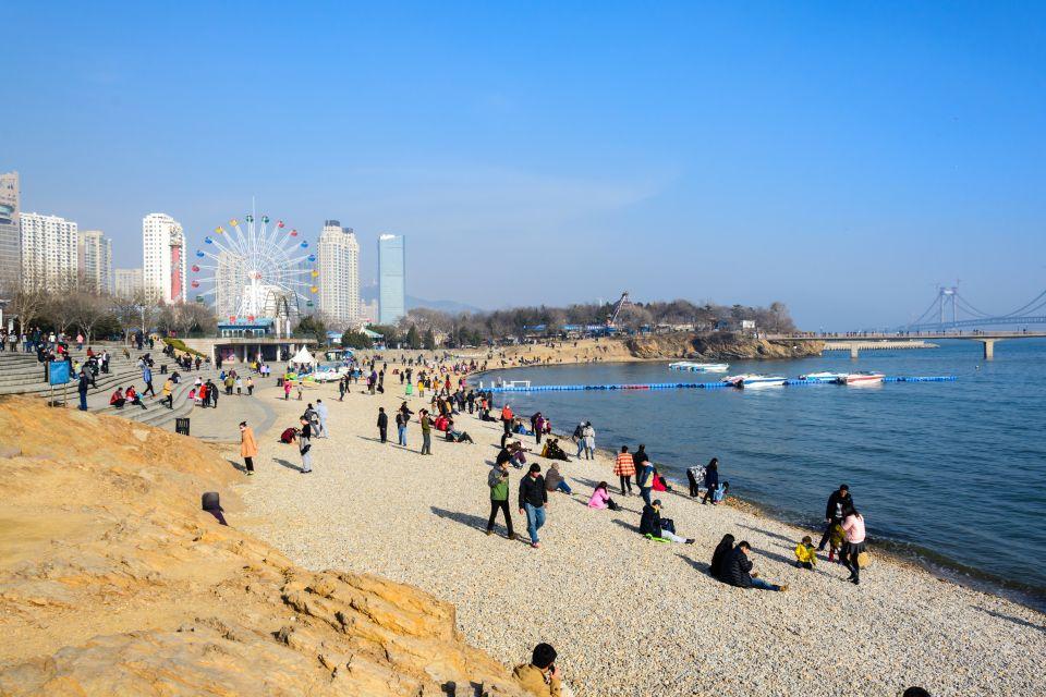 Chine, la plage de Xinghai
