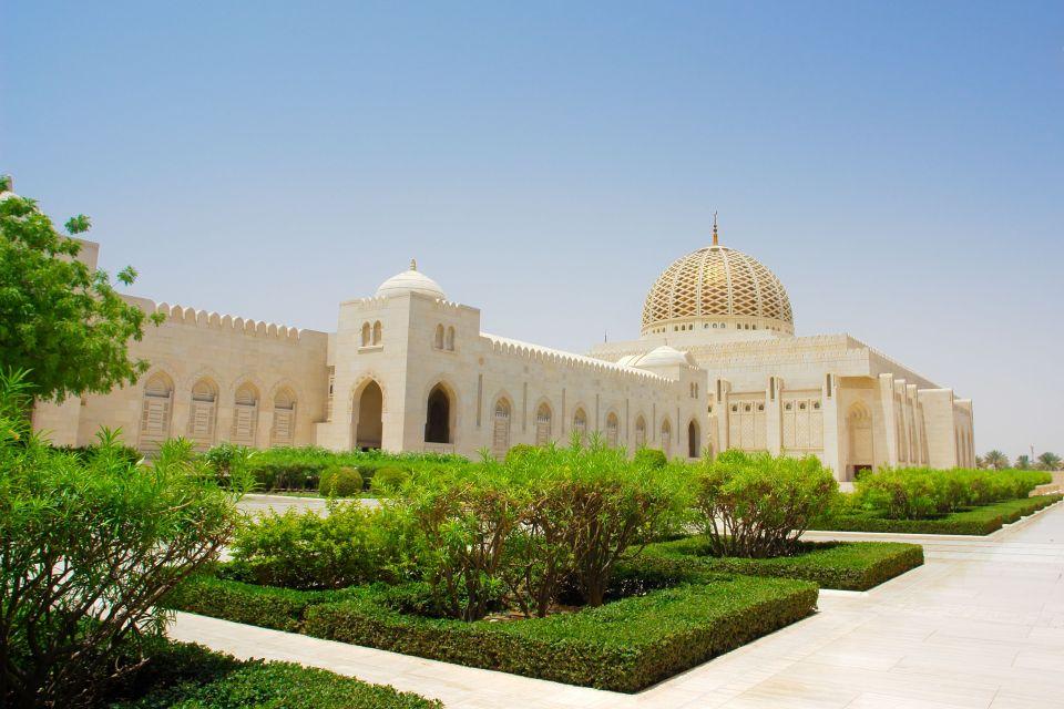 La Grande Mosquée du Sultan Qaboos à Oman