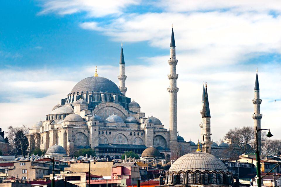 La Mosquée de Soliman le Magnifique à Istanbul en Turquie