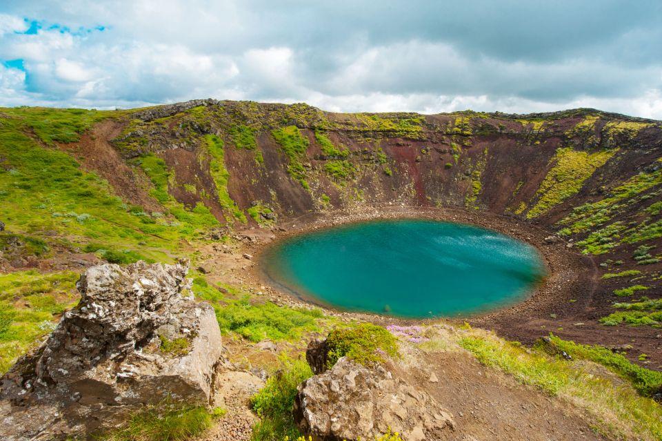 Kerid Crater Lake - Iceland
