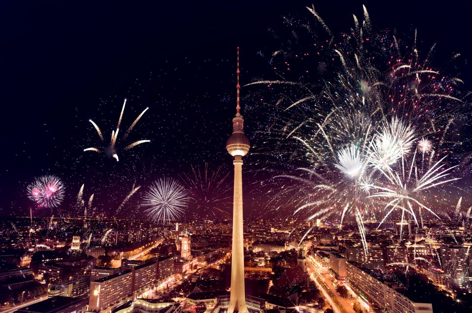 Fernsehturm Berlin Silvester