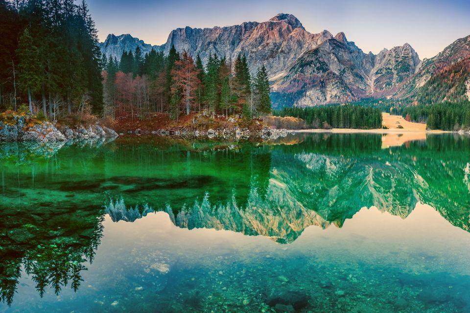 Les lacs de Fusine